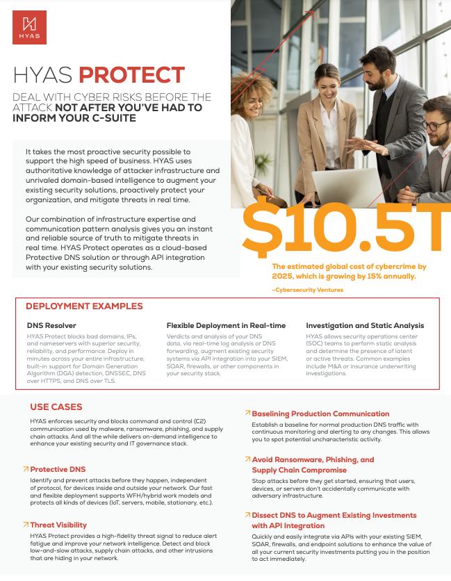 HYAS Protect Datasheet